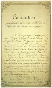 Auszug aus der 1. Genfer Konvention 1864