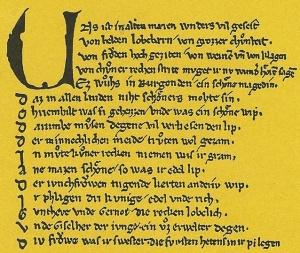 """Titelblatt """"Das Nibelungenlied""""; Reclam Verlag; 2011"""