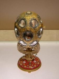 Ei zum 300. Jubiläum der Romanow-Zarendynastie von Fabergé