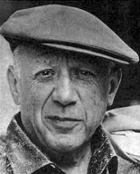 Pablo Picasso im Jahr 1962