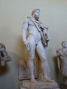 Der Halbgott Herakles (Vat. Museum)