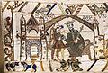 König Eduard I. der Bekenner auf dem Teppich von Bayeux (Quelle: http://commons.wikimedia.org)