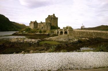 Eilean Donan Castle im Loch Duich