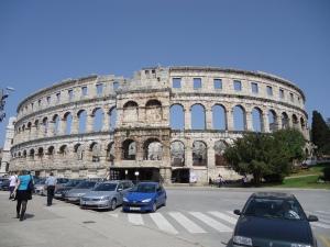 Amphitheater von Pula (Quelle: eig. Foto)