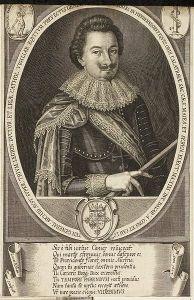Adam Graf von Herberstorff (Kupferstich von Lucas Kilian 1624)