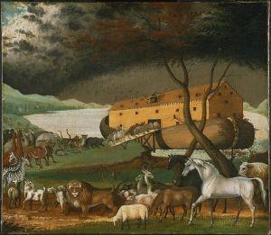 """Gemälde """"Arche Noah"""" von Edward Hicks (Quelle: Wikicommons)"""