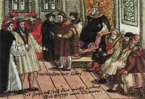 Martin Luther am Reichstag zu Worms (Quelle: Wikicommons)