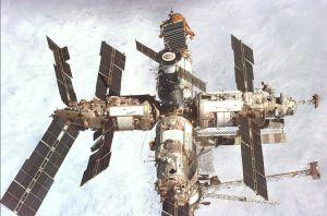 """Die russische Raumstation """"Mir"""""""