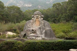 Statue des Laozi in Quanzhou (Quelle: Wikicommons)