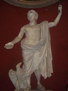 Statue von Kaiser Claudius im Vatikanischen Museum (Quelle: Wikicommons)