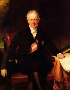 Alexander von Humboldt 1831 (Quelle: Wikicommons)