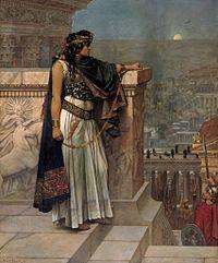 """""""Zenobia"""" - Gemälde von Herbert Schmalz"""