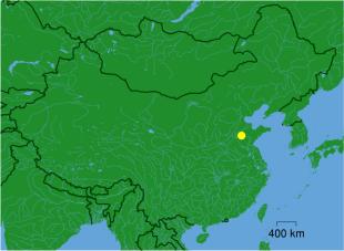 Geographische Lage des Tai Shan (Quelle: Wikicommons)