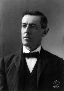 Präsident Woodrow Wilson (Quelle: Wikicommons)