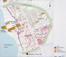 Lageplan von Haithabu (Quelle: Wikicommons, Alexander Leischner)