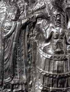"""Taufe von Harald I. """"Blauzahn"""" Gormson (Quellle: Wikicommons)"""